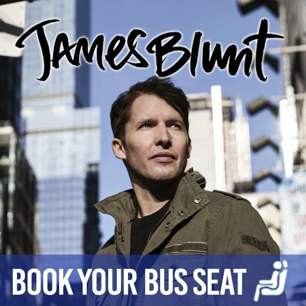 Bus to Kasabian - Book Your Seat on a Bus From Cork to 3 Arena James Blunt Concert Dublin