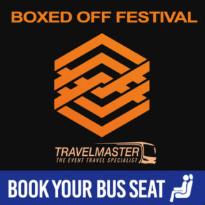 Bus to Boxed Off Festival