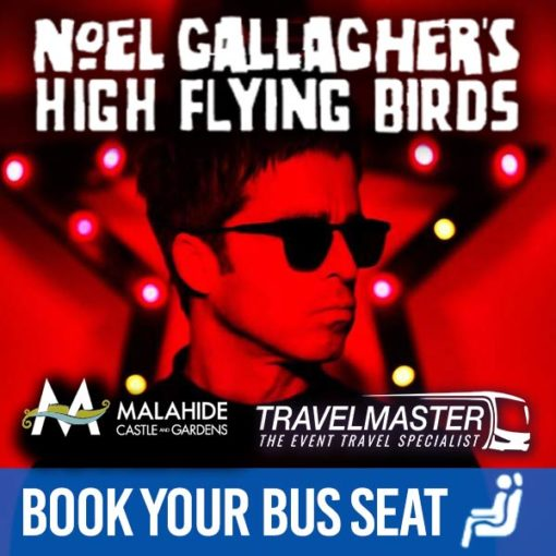Bus to Noel Gallagher's High Flying Birds