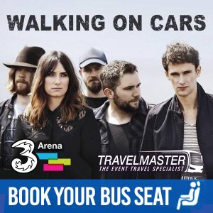 Bus to Walking on Cars 3Arena