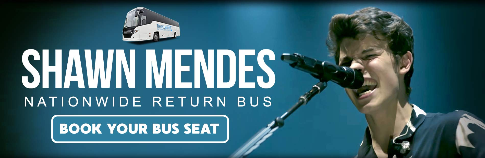 Bus to Shawn Mendes 3Arena