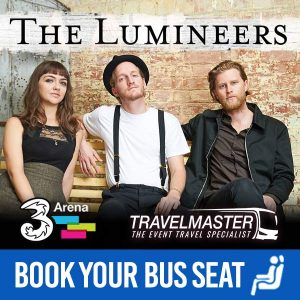 Bus to The Lumineers 3Arena