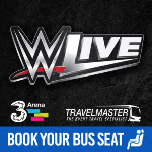 Bus to WWE Live 3Arena 2019