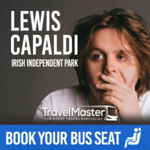Bus to Lewis Capaldi Irish Independent Park