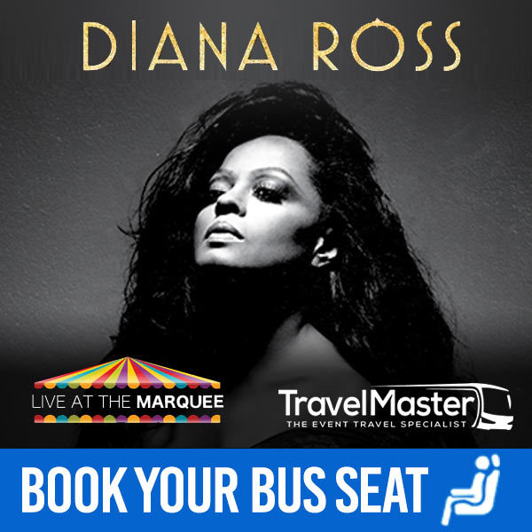 Bus to Diana Ross Live At The Marquee, Cork