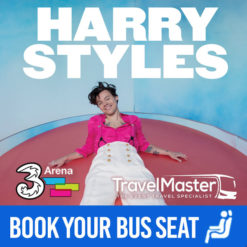 Bus to Harry Styles 3Arena | Nationwide Return | 19th April 2020