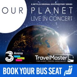 Bus to Our Planet Live in Concert 3Arena | Nationwide Return | 16 Oct 2020