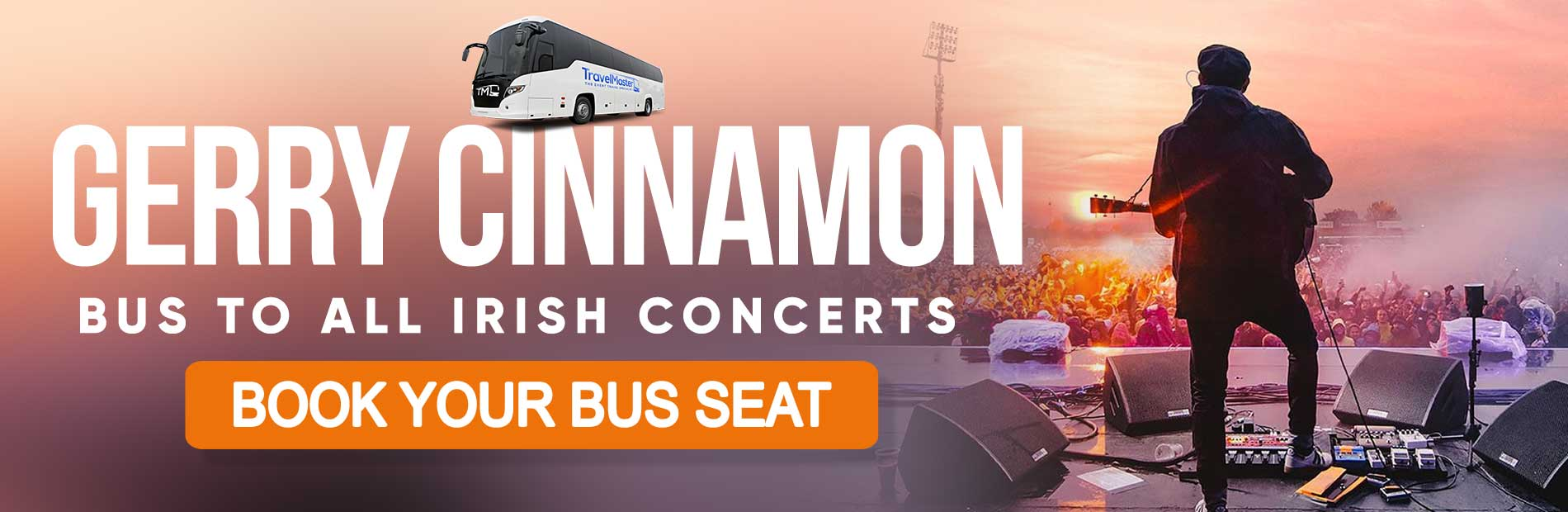 Bus to Gerry Cinnamon Concerts