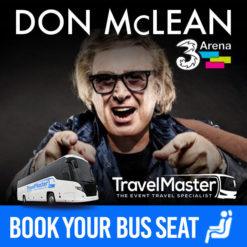 Bus to Don McLean 3Arena 2022